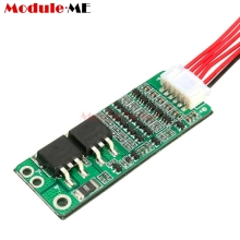 5S 15A Li-ion Lithium Battery BMS 18650 Charger Protection Board 18V 21V Circuit Short Current Cell Protection With Wire(China)