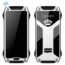In stock VKWorld Crown V8 1.64'' Smart Phone 4.9mm Ultra-slim Pedometer Bluetooth FM Dual SIM Network 2G GSM 780mAh OLED Screen(China)