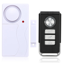 New Arrival Wireless Magnetic Window Door Sensor Detector Remote Control Entry Detector Anti-Theft Home Security Alarm System