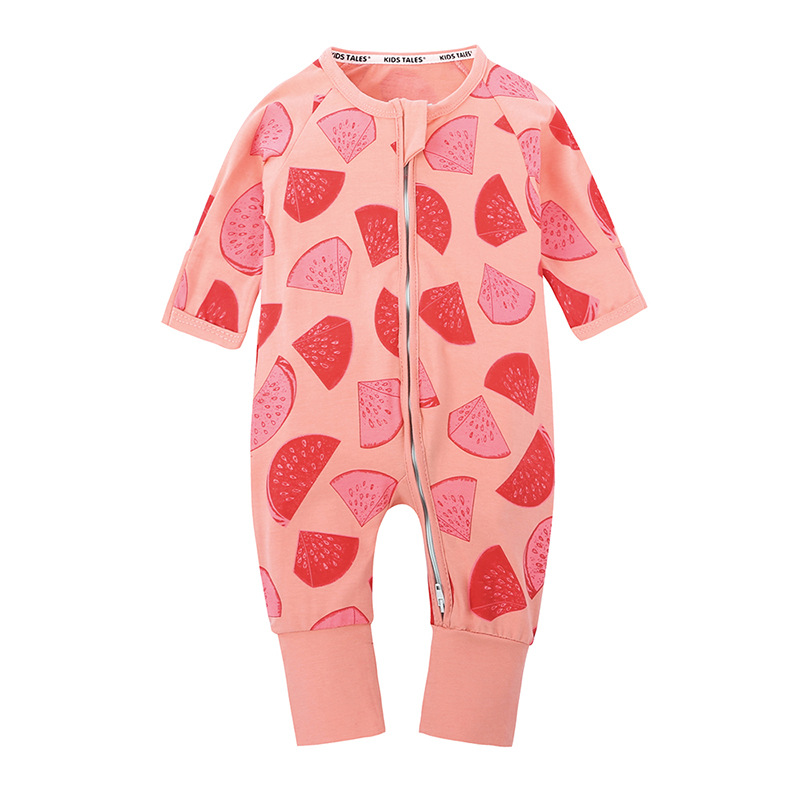 Baby Watermelon Climb Clothing Romper Clothing Baby Long Sleeve  Infant  Girls jumpsuit baby clothes<br>