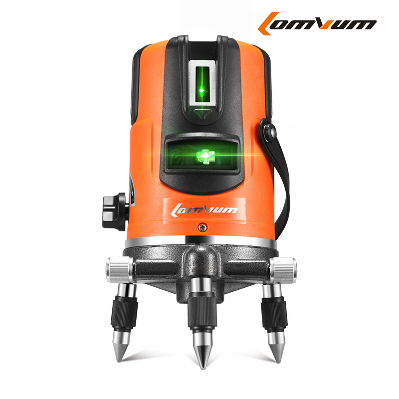 2017 Niveau Laser Promotion Real Green Laser Level Dragon Rhyme 2 Line 3 Wire 5 1 Point Instrument Outdoor Striking <br>