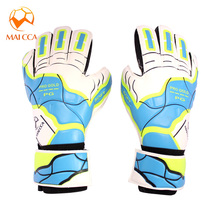 Brand Goalkeeper gloves with Professional young men boys soccer goalkeeper Gloves Gate keeper latex anti-slip football Gloves