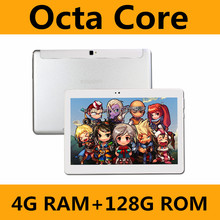 2017 New 10 inch 3G Tablets Octa Core Android 6.0 RAM 4GB ROM 128GB Dual SIM Cards 1280*800 IPS HD 10.1 inch Tablet PCs+Gifs