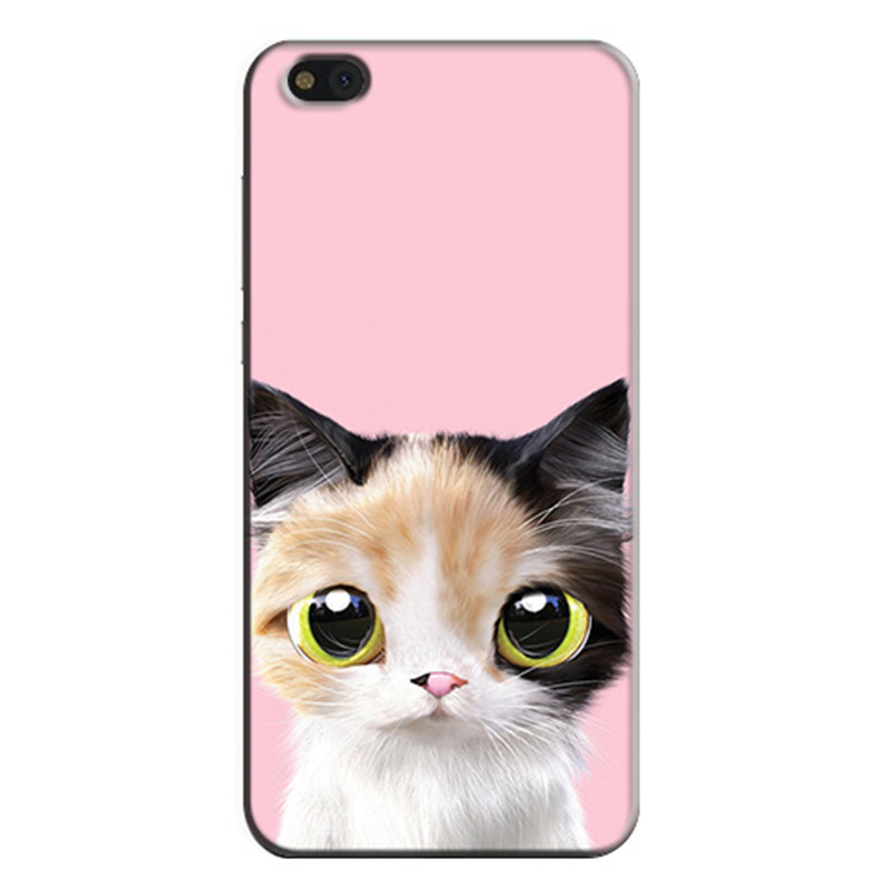 for xiaomi mi 5c Case Fashion Cartoon Painting Drawing Hard Plastic Cover Case for xiaomi mi 5c Phone Cases