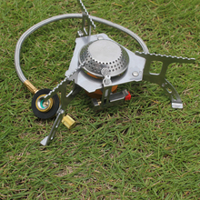 Hot Portable Folding gas stove Outdoor Camping Picnic bbq cooking burner butane stove with electronic ignition