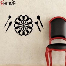 EHOME Dart Board Wall Stickers Home Decor DIY Vinyl Art Sticker On The Door Removable Children'S Room Wall Decals