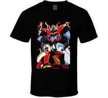 T-Shirt Men Clothing Mazinger Family Picture Anime T Shirt Streetwear Funny Print Clothing Hip-Tope Mans T-Shirt Tops Tees