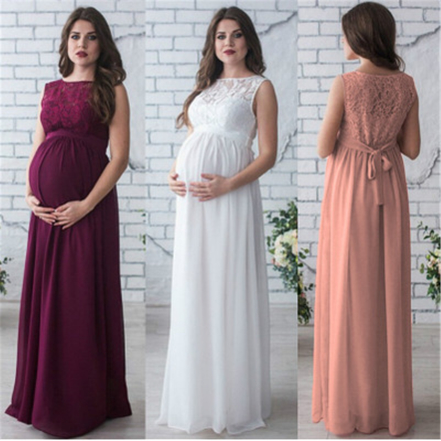 Maternity Dresses For Women Dresses Gestante Female Clothes Hamile Giyim For Pregnant Women Long Dress For Photo Shoot 70R0164<br>