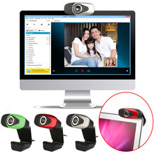 Del Best HD 12 Megapixels USB 2.0 Webcam Camera with MIC for Skype Computer PC Laptops July 01(China)