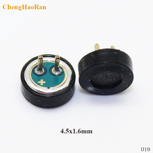2pcs 5pcs Repair Parts cell phone Round 2PIN mic universal Microphone Module for many mobiles and tablet for replacement 2P(China)