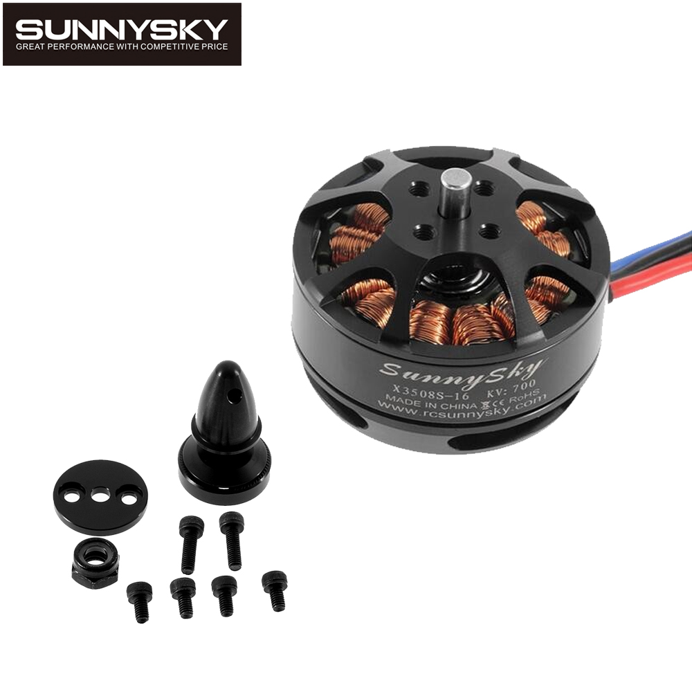 1pcs SunnySky X3508S 380KV 580KV 700KV Brushless Motor Suppport 4s for FPV mini quadcopter gopro aerial multicopter <br>