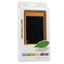 Actual Full Capacity 1000mAh Dual USB Portable Solar Battery Charger Power Bank For Cell Phone Mobile VA558 T10 0.5
