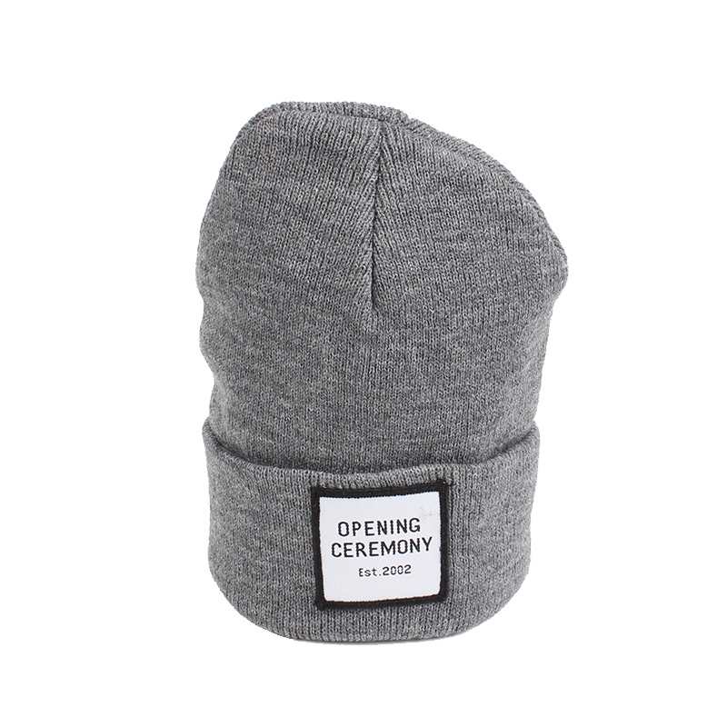 Knitted Cotton Women Beanie Hats Fashion OPENING CEREMONY Women Hats Autumn Winter Warm Female Hat Letter Hip Hop Women Skullies (9)