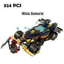 Compatible lego ninjago 70625 Models building toy SY859 324pcs Ninja Samurai Building Blocks toys & hobbies
