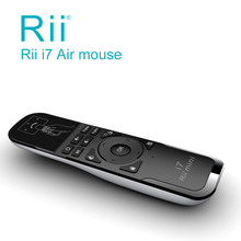[Rii] i7 Mini Fly Air Mouse 2.4GHz Wireless Remote Control Built-in 6 Axis for PC/Smart tv/Android Box/PS3 Motion Sensing Gamer