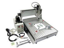 Hot Sell CNC 6040 Z-VFD 1.5KW water cooling spindle CNC engraver milling machine carving router(China)