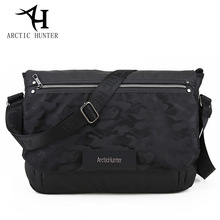 ARCTIC HUNTER New leisure men Messenger bag Oxford cloth camouflage material shoulder bag fashion postman package(China)