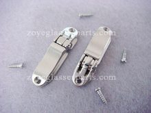 ZOYE quality eyeglass spring hinge flex hinge for aluminum sunglasses frame 4.4mm replaceable nickel color with screw TSH-04