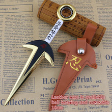 The Fourth Hokage Yondaime Minato Kunai Knife Weapon Outdoor Toy New Uzumaki Naruto Hokage cosplay weapon toy kids birthday gift