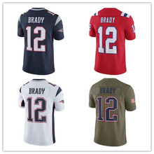 Men's Rob Gronkowski Julian Edelman Tom Brady Vapor Untouchable Player Jerseys(China)