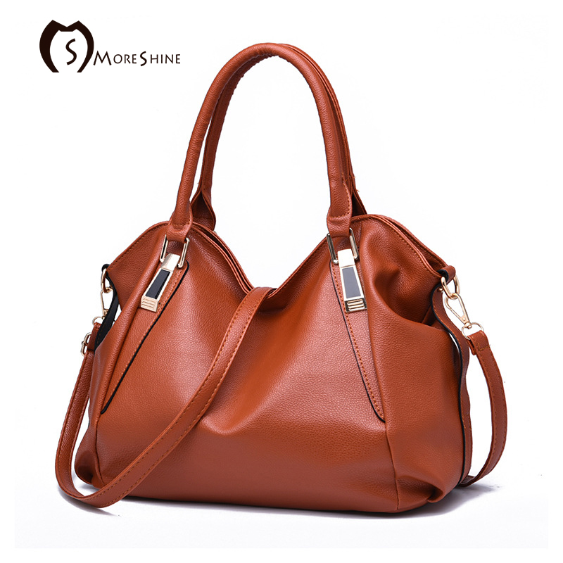 MORESHINE Fashion Women Soft leather Handbags Brief style design womens litchi grain Crossbody bag Female Shoulder bags tote<br><br>Aliexpress