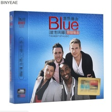 BINYEAE- new CD seal: blue band album selection classic pop song car music 3CD disc [free shipping](China)
