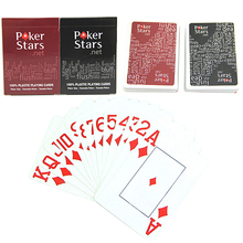 Hot New Giant Plastic Playing Poker Cards Set Poker Stars Letters Game Cards for Poker