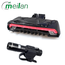 Meilan X5 Bike Light remote switch and Cycloving Bicycle Light Flashlight Bike accessories