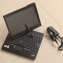 second hand laptop for car diagnostic For lenovo thinkpad x200t touch screen used computer best price with battery free shipping