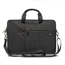 WiWU Mais Novo Laptop Saco Do Mensageiro 11 12 13.3 14 15.4 15.6 À Prova D' Água Saco de Nylon para Notebook Dell 14 Laptop Bag para Macbook Air 13(China)