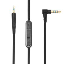 Universal Audio Cable Wire Cord With Mic For BOSE For QuietComfort For QC 25 Replacement Headphone Audio Cables