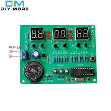 DIY Kit Module 9V-12V AT89C2051 6 Digital Digital LED Display Module Electronic Clock Parts Components