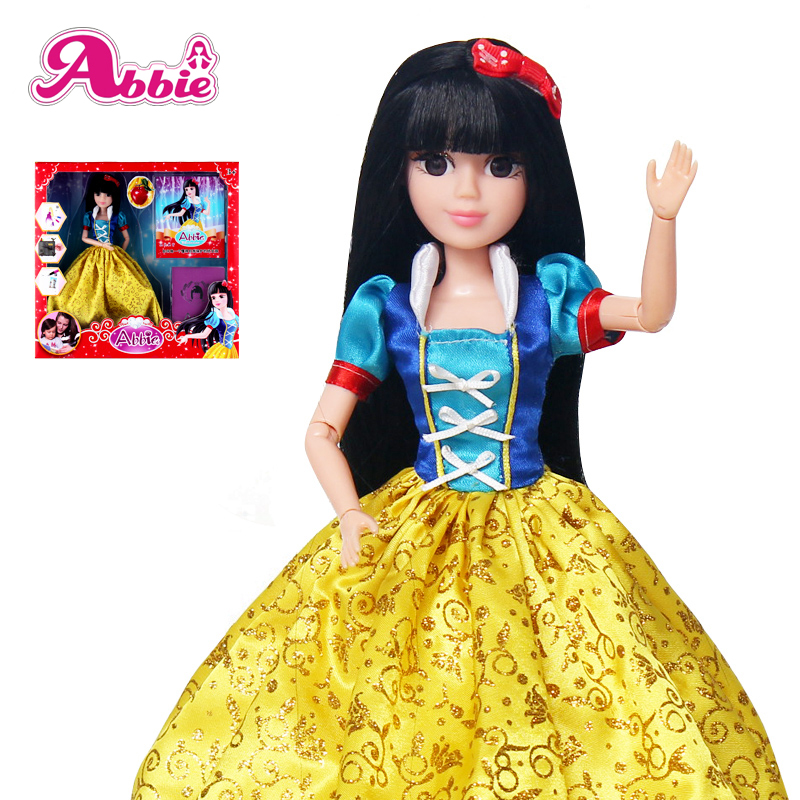 Abbie Princenss Dolls New Snow White Fun And Educational Best Friend Play with Children Gift Christmas Toys Perfect Packing<br><br>Aliexpress
