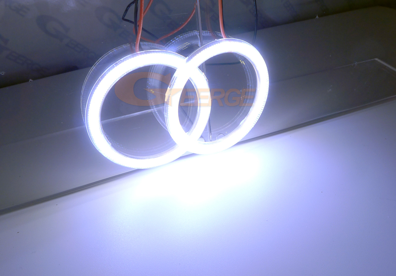 cob led angel eyes kit halo rings 2x70mm(8)
