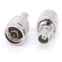 1pcs RF adapter N to BNC adapter for N male to BNC female connector Free shipping(China)
