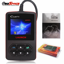 Original Multi-languages LAUNCH Scanner Creader V+ OBD2 Fault Code Reader Universal Automotive Diagnostic Scanner Creader v+