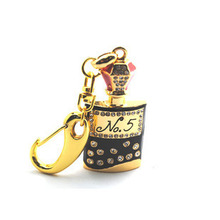 Perfume Bottle 128GB 16GB 32GB 64GB Gift Jewelry Keychain Crystal Pen USB Flash Drive 2.0 USB Memory Stick Pendrive 512GB Key