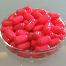 (10,000pcs/pack) Size 00# Pink/Pink Color Fake-proof size 00#B squab empty capsule,short 00# empty capsule 00B# stocky capsules