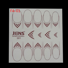 Nail Sticker Free Shipping Nail Art Water Transfer Stickers Decals Designs Painted Body Tattoo Decorations Tools For Taty Fa-01(China)