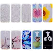 Fashion Painted Pattern TPU Silicone Soft sFor LG G3 D855 Case For LG G3 D850 F400/ G2 /G4 /G5/K4/ K5 Cell Phone Back Cover Case(China)