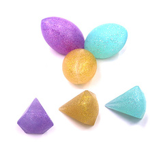 3D Diamond-shaped Silicone Makeup Sponge Glitter Cosmetic Puff Flawless Smooth Power Puff ABS Cream Comestic Beauty Tools(China)
