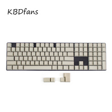Free shipping blank printed 108 keys Mixed Color OEM Profile Thick pbt keycaps for wried usb mechaniacal gaming keyboard keycap