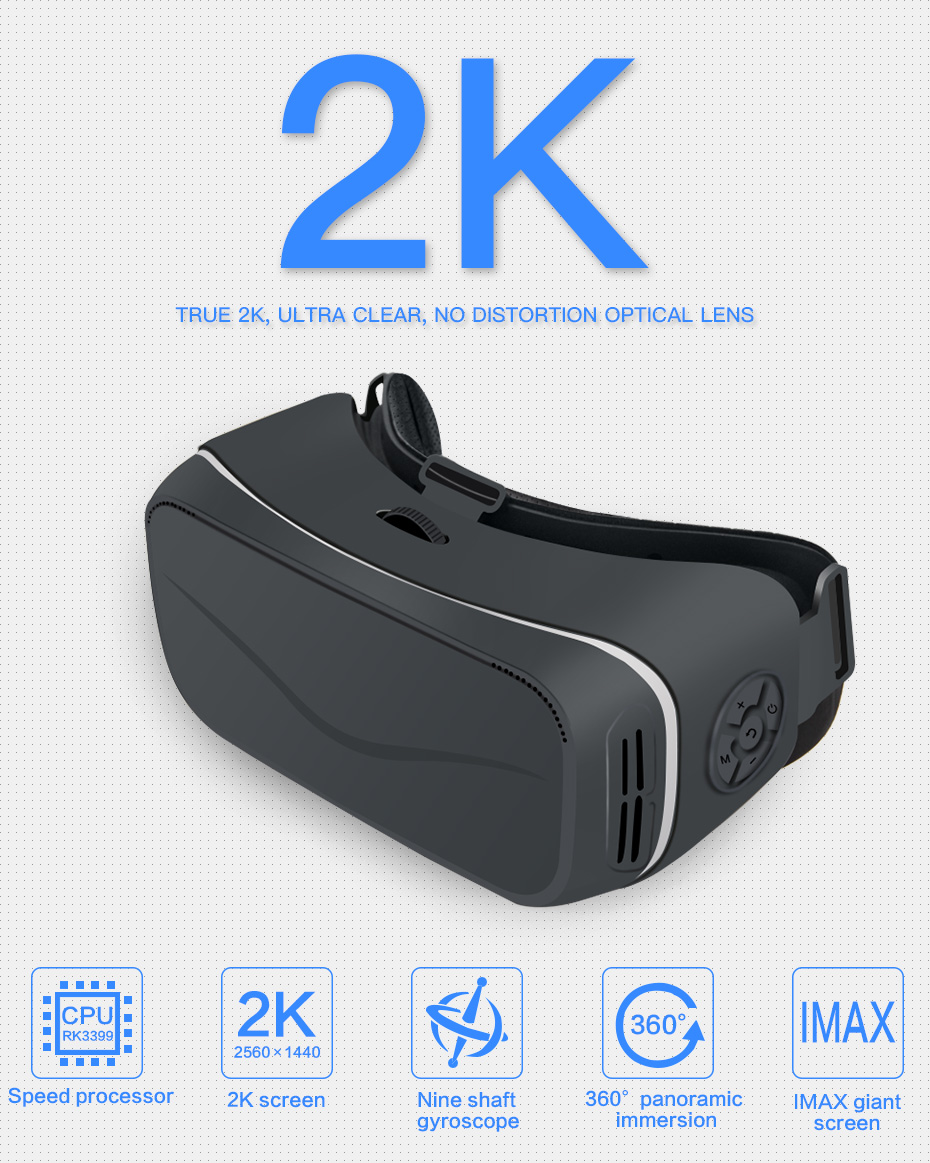 vr glasses virtual reality for pc vr glasses ps4 vr glasses hdmi vr glasses all in one VM05_2