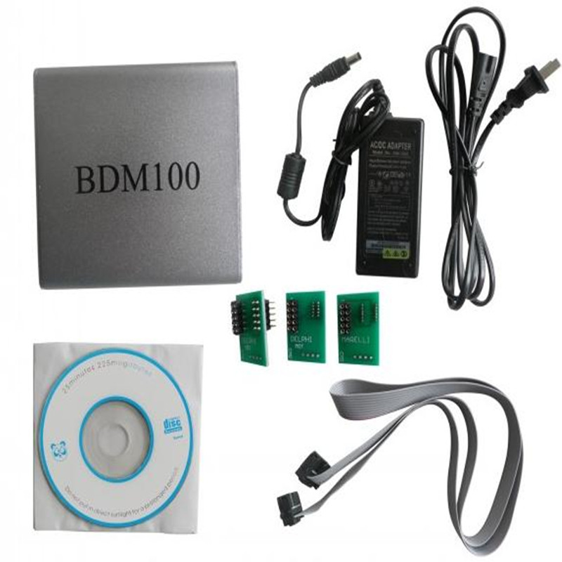 2017 auto Professional Super bdm 100 Ecu programmer Universal Chip Tunning Tool BDM100 with adapters full set<br><br>Aliexpress