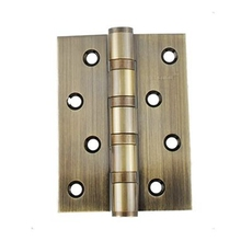 Meticulous 4 inch hinge Ball Bearing Mute Thicken the door open and close hinge Color: Green color(China)