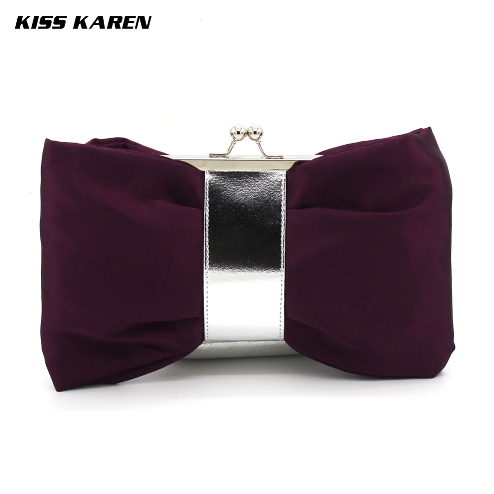 Kiss Karen Popular Bowknot Women Clutch Bag Evening Bags Lady Clutches Night Club Party Bag Lady Wedding Party Minaudiere<br><br>Aliexpress