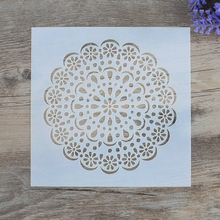 DIY Craft Layering Flower Stencils For Walls Painting Scrapbooking Stamping  Album Decorative Embossing Paper Cards