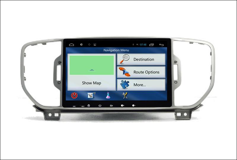 For Kia Sportage ( QL ) Kia KX5 2015 2016 - Car Android Media Player System Radio Stereo GPS Navigation Multimedia Audio Video 7