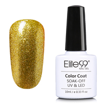 Elite99 Bling Alcohol Removabel One Step Nail Polish Gel Varnish Most Healthy Manicure 10ml Polish Gel Lacquer