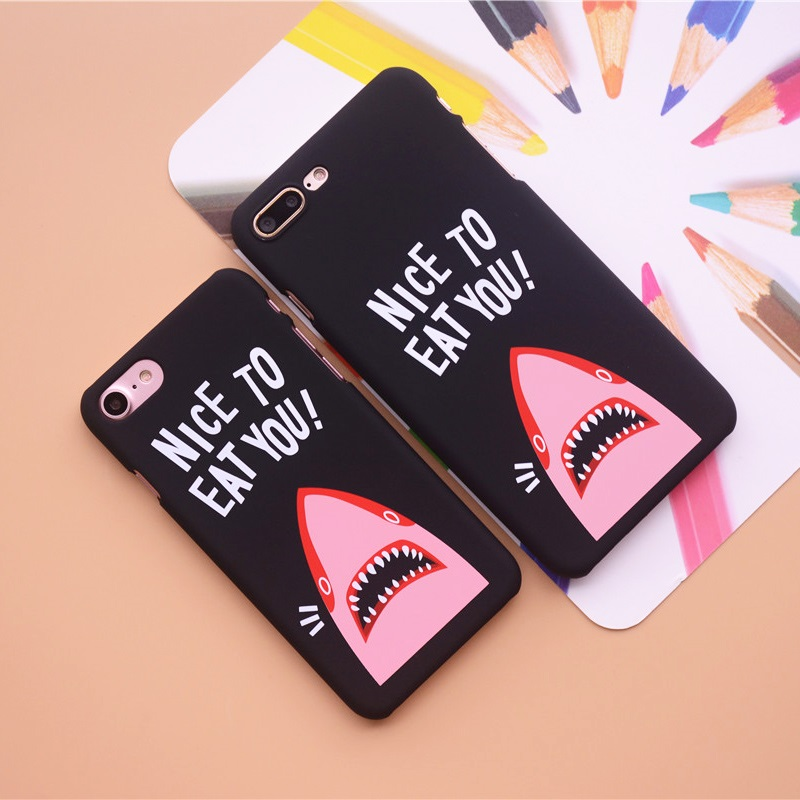 "Nice To Eat You"" Shark Phone Cases 6"